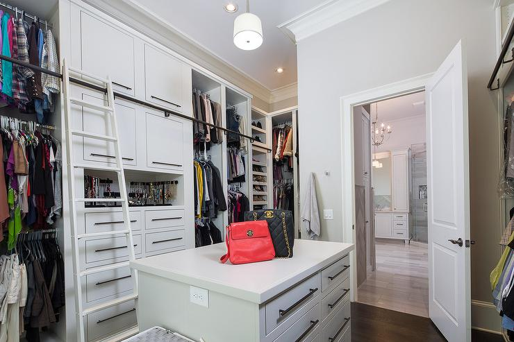 White Walk In Closet white walk in closet design ideas