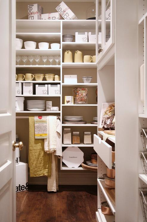 Modular Pantry Shelves Design Ideas