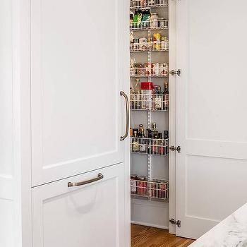 Concealed Walk In Pantry Design