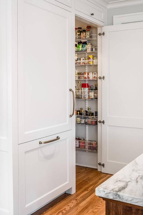 Glass Paneled Pantry Door Design Ideas