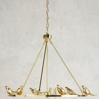 Brass birds chandelier products bookmarks design inspiration brass birds round chandelier aloadofball Gallery