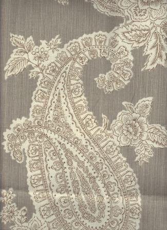 Fuchsia Paisley Rainbow Garden Fabric