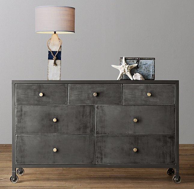 Knox Wide Steel Dresser Photo