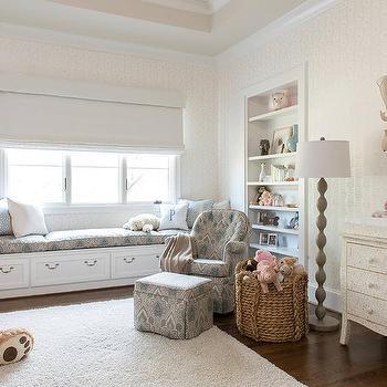 Peachy Nursery Window Seat Design Ideas Short Links Chair Design For Home Short Linksinfo