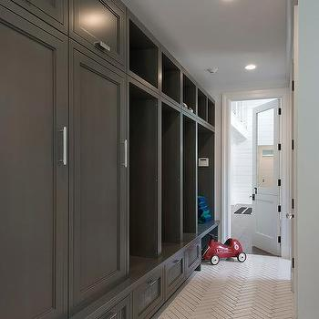 Superieur Charcoal Gray Mudroom Lockers With Sport Equipment Drawers