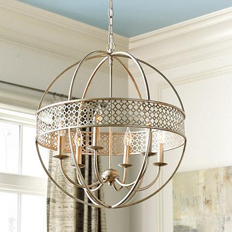 Ballard Designs Chandelier ballard designs marais 6 light orb chandelier look for less