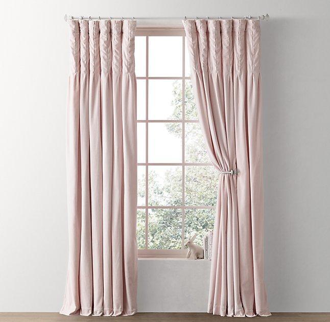 Pink Velvet Curtain Curtain Menzilperde Net