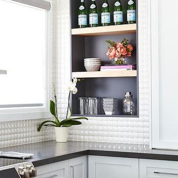 Kitchen Backsplash Shelves 3d kitchen backsplash tiles design ideas