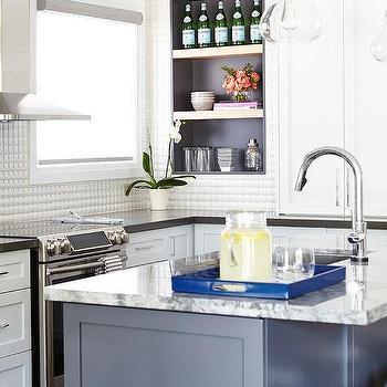 white prism kitchen backsplash tiles 3d kitchen backsplash tiles design ideas  rh   decorpad com