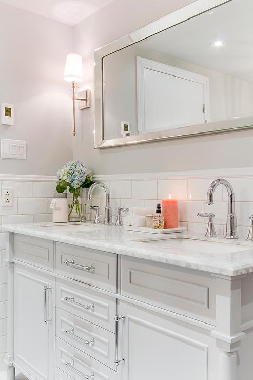 Gray And Pale Yellow Bathroom Unique Decorating Ideas