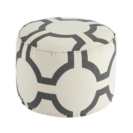 Fantastic Traditional Geometric Pouf Ottoman Short Links Chair Design For Home Short Linksinfo