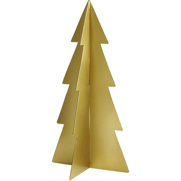 metal gold tree frame - Metal Frame Christmas Decorations