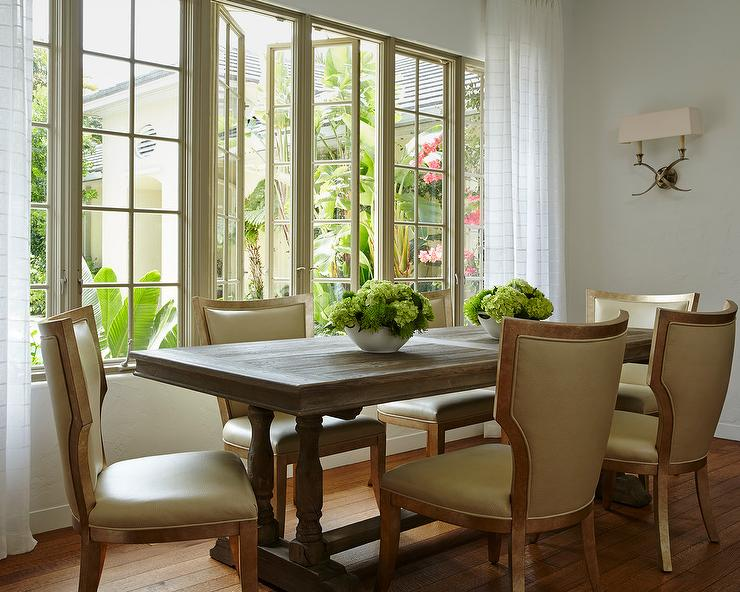 Room With Casement Windows : Dining rooms vivian double sconce design ideas