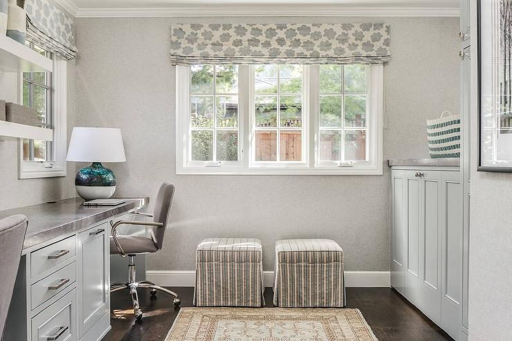 Built In Laundry Room Desk Design Ideas