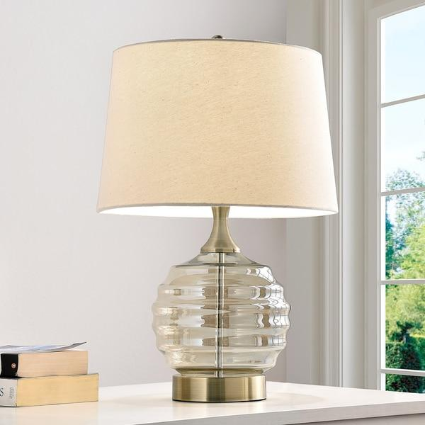 Crystal Clear Base Table Lamp