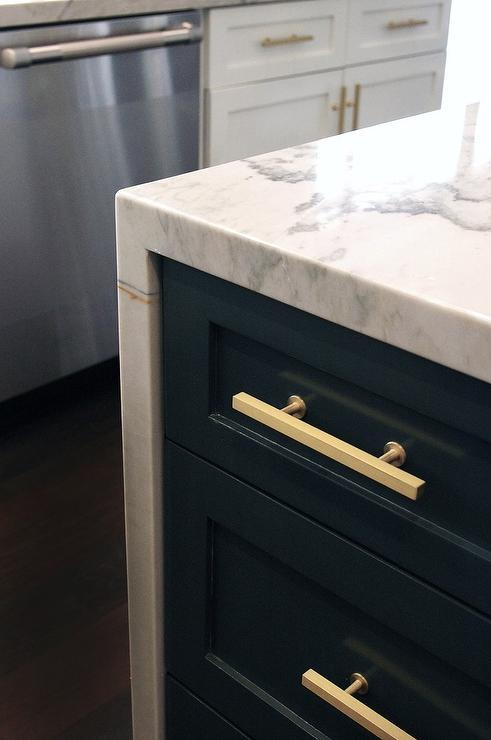 Brass T Pull Cabinet Hardware
