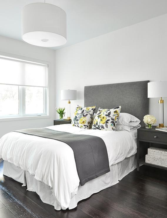 Bedroom design decor photos pictures ideas for Charcoal grey bedroom