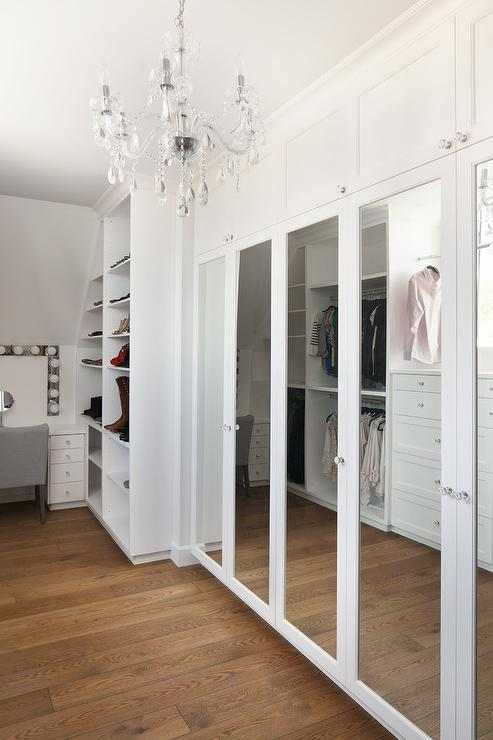 Mirrored Wardrobe Cabinets Design Ideas