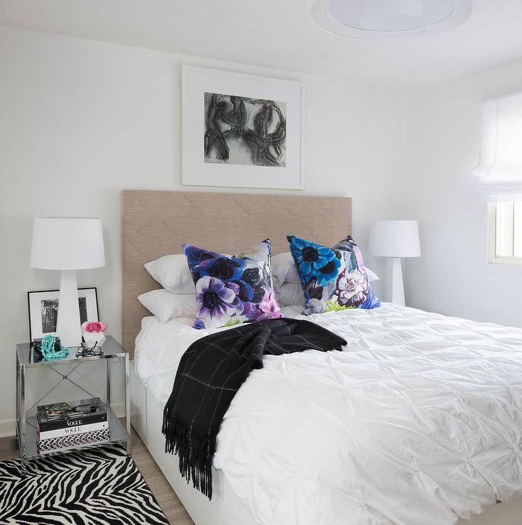 Taupe And Blue Bedroom Color Scheme