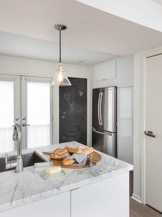 Tall Kitchen Chalkboard - Transitional - Kitchen