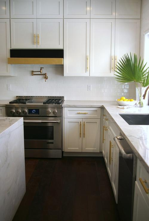 Black and Gold Kitchen Hood - Hollywood Regency - Kitchen