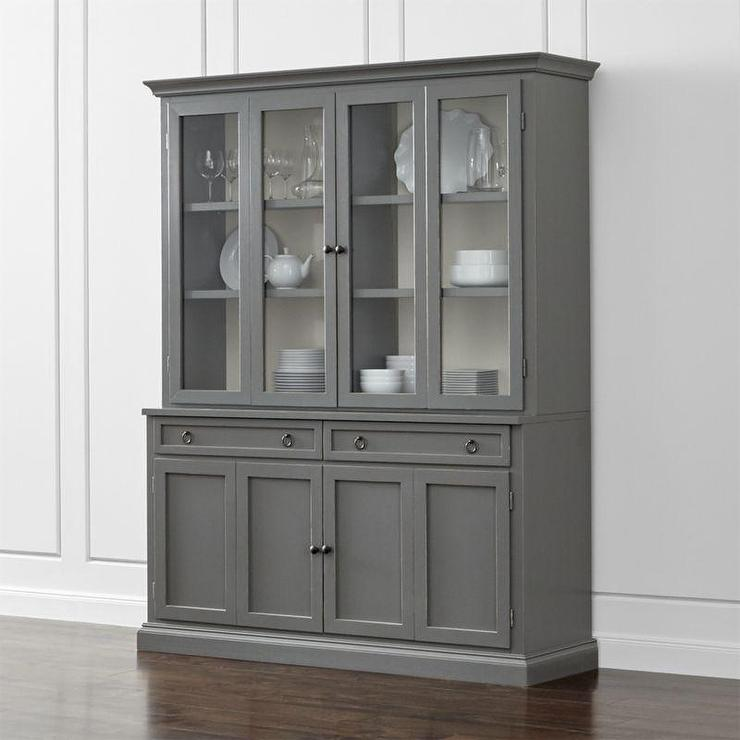 Cameo 2 Piece Grey Entertainment Media Center