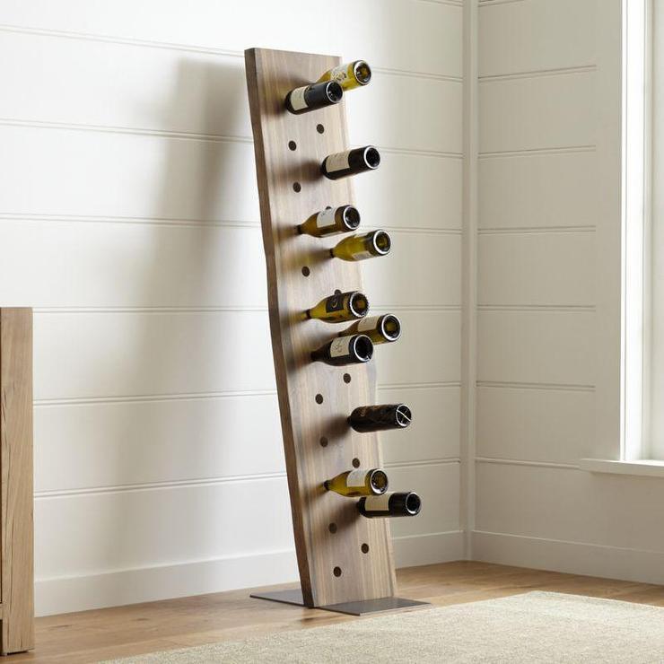 Comstock Black Iron Wine Rack