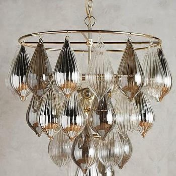 Tear shaped glass chandelier products bookmarks design clustered droplet chandelier aloadofball Choice Image