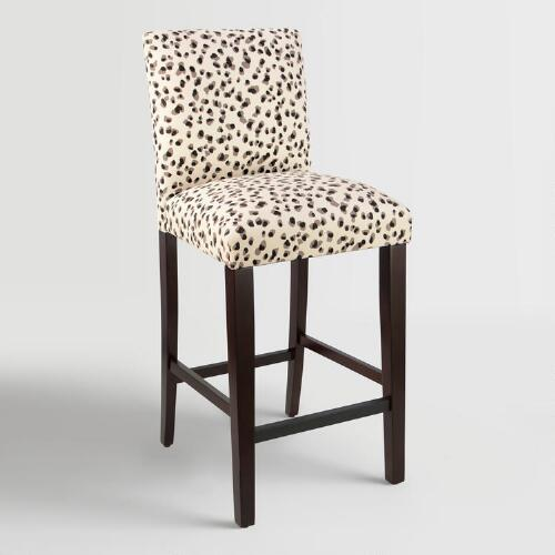 Gold Leopard Maurice Chair
