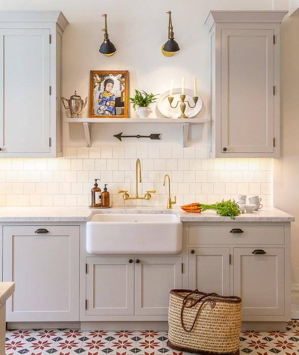 Gold And Black Swing Arm Sconce Gray Kitchen Shelf Jpg