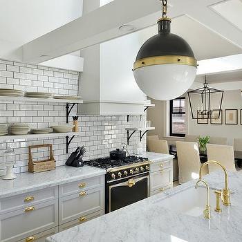 Iron And Marble Shelf Design Ideas