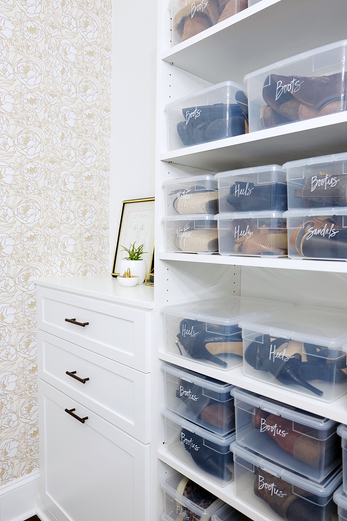 See Through Closet Drawers Design Ideas