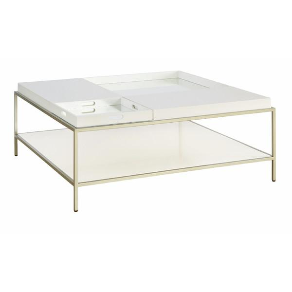 Marvelous Elin White Detatchable Coffee Table View Full Size