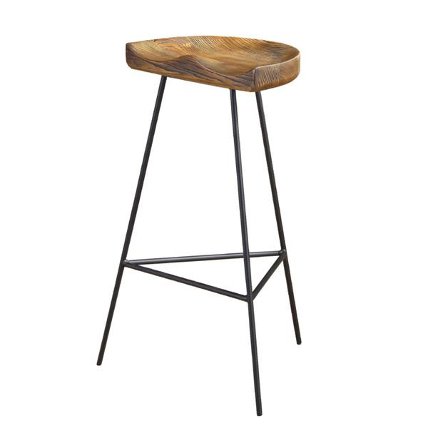 alec wood iron bar stool view full size