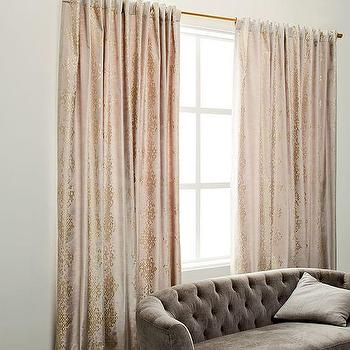 metallic of gold curtains home and scalisi garden creative curtain