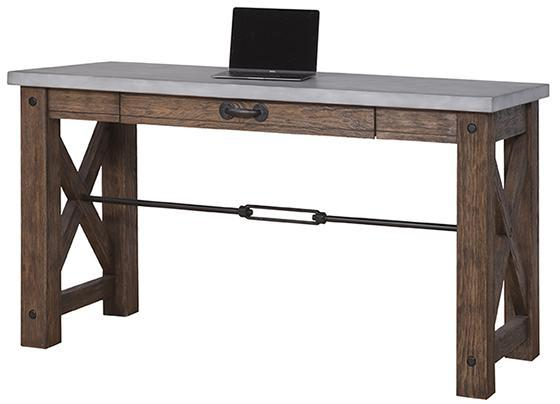 Forbes Wood Concrete Writing Desk