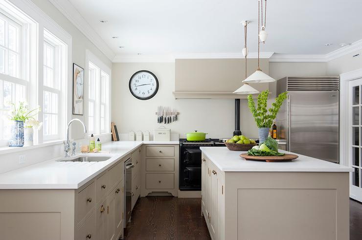 Taupe Quartz Countertops Design Ideas