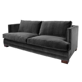 Pierce Sofa Charcoal Z Gallerie