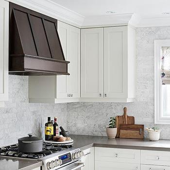 White Kitchen Vent Hood under cabinet vent hood design ideas