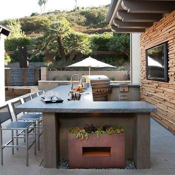 Outdoor Kitchen Ideas Country Deck Patio Ttm Development