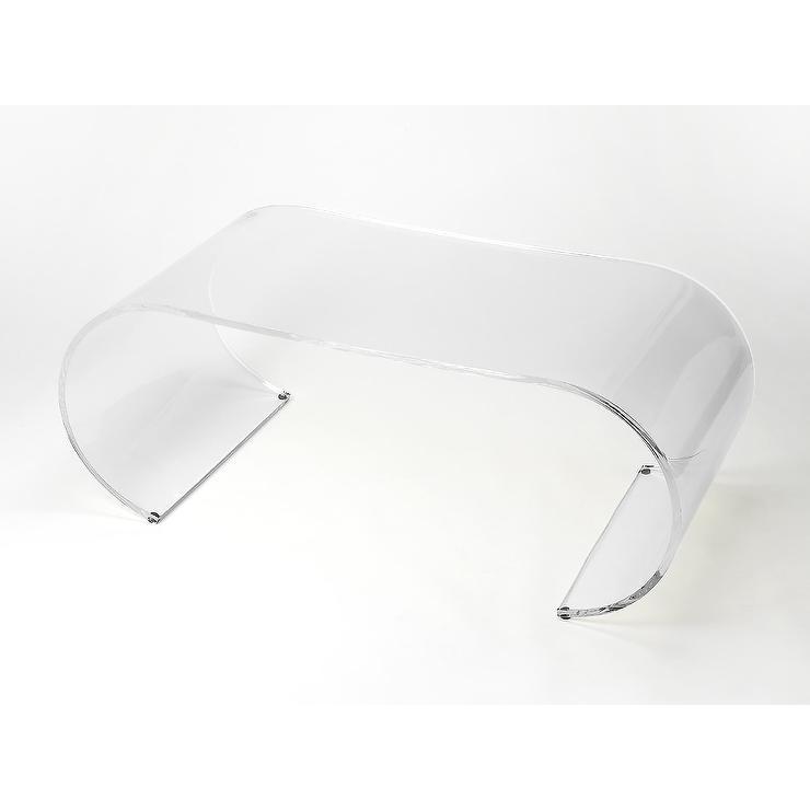 Butler Milan Arched Acrylic Cocktail Table - Wayfair acrylic table