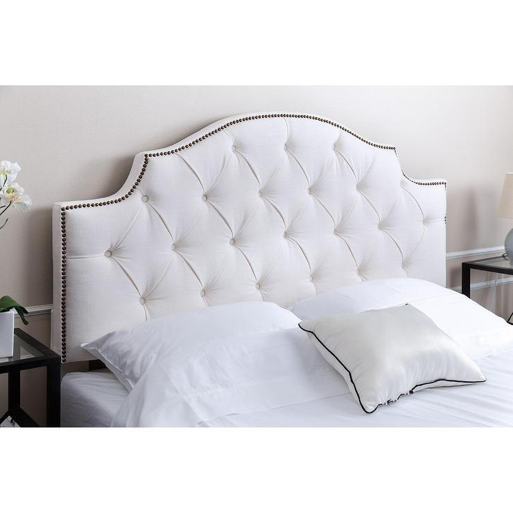 Carved Headboard White West Elm