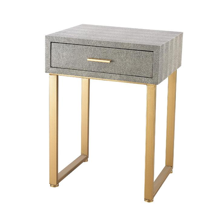 Beaufort point single drawer accent side table watchthetrailerfo