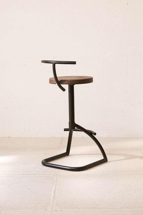 industrial rustic chair bar wooden high kitchen stools wood counter square studyfinder co seat metal stool and