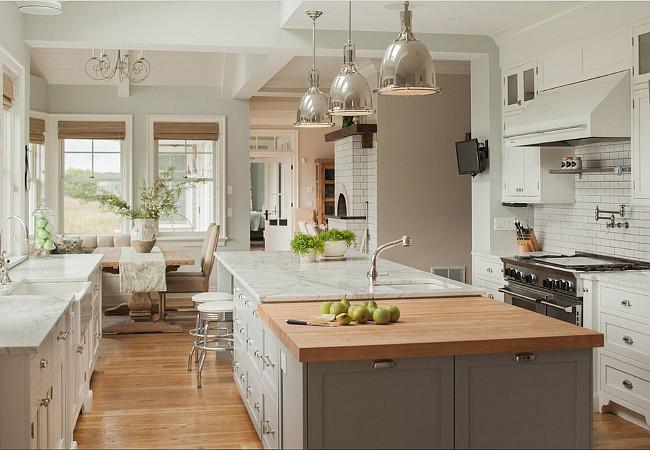 Traditional Kitchen Benjamin Moore Arctic Grey