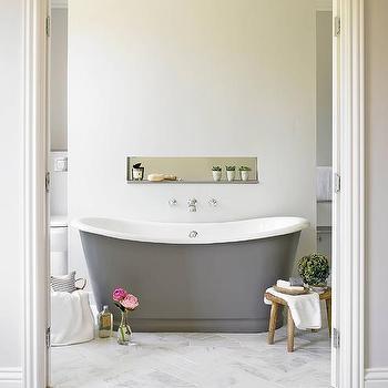 Bathroom Wall Partition Ledge Design Ideas - Partition bathroom wall
