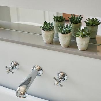 Bathroom Ledge Decorating Ideas built in bathroom ledge design ideas