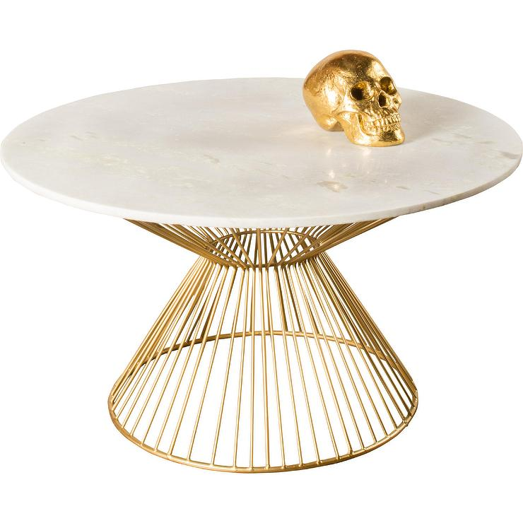 Neal Black And Gold Coffee Table