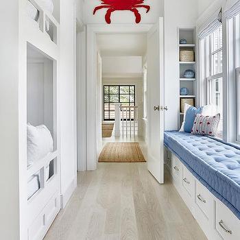 Long Bedroom Window Seat Design Ideas