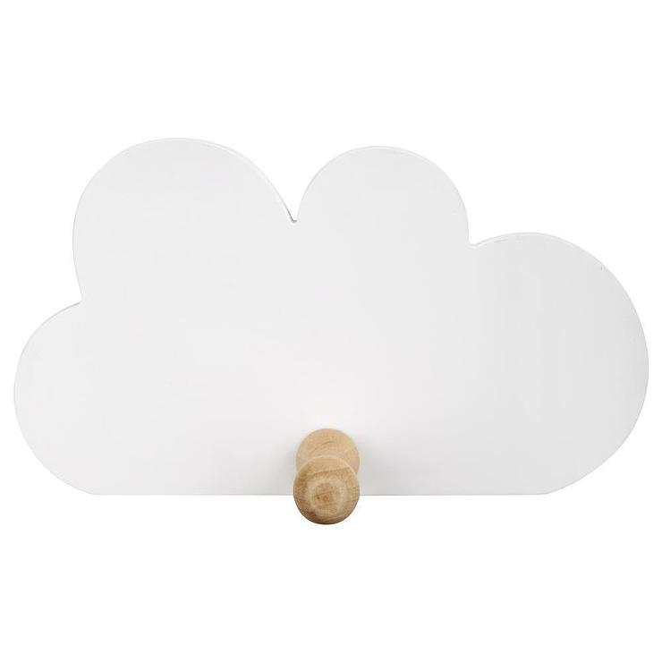 White Cloud Wall Hook